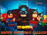 A4 Lego Batman Movie Edible Icing or Wafer Birthday Cake Topper